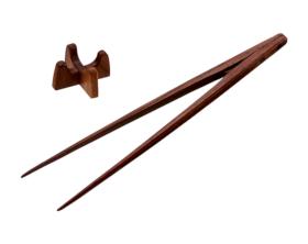 盛り付け箸25cm ウォルナット
