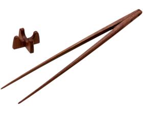 盛り付け箸30cm ウォルナット