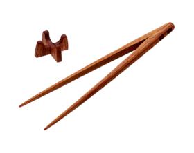 取り分け菜箸トング25cm 花梨