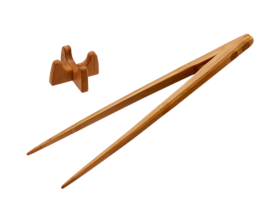 取り分け菜箸トング25cm 竹